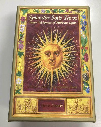 Splendor Solis Tarot - package i