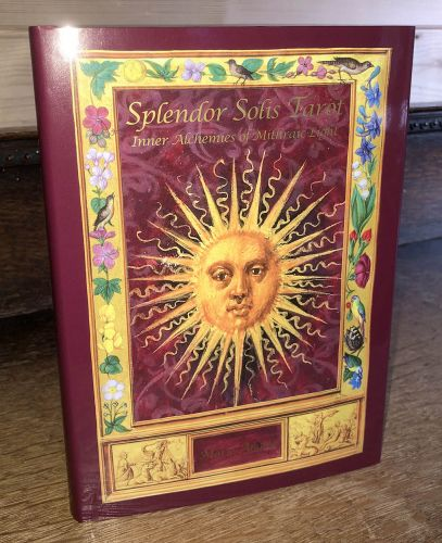 Splendor Solis Tarot Hardcover Book