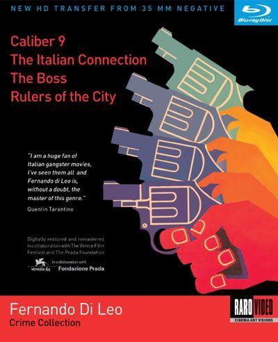 Fernando Di Leo Crime Collection (DVD)
