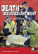 Death Occured Last Night (Blu-ray)