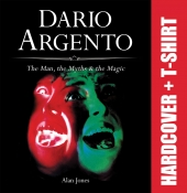 Dario Argento (Hardcover and T-shirt) PRE-ORDER