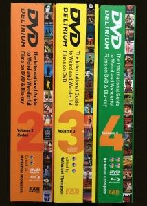 DVD Delirium TRIPLE BOOK OFFER