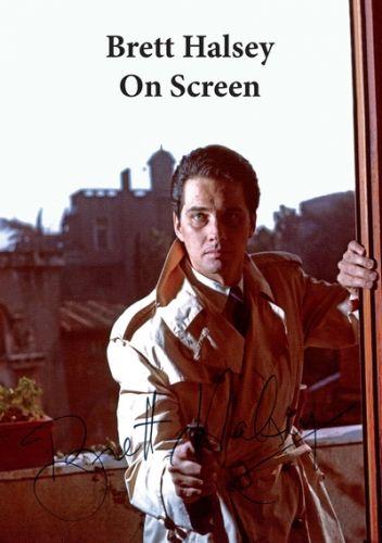 Brett Halsey On Screen (paperback)