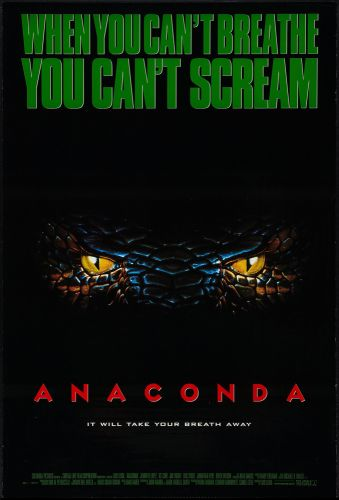 ANACONDA One Sheet Poster
