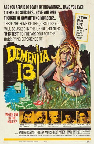 DEMENTIA 13 One Sheet Poster