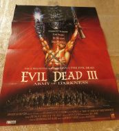 EVIL DEAD III French Poster