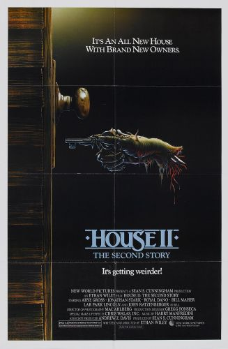 HOUSE II THE SECOND STORY One Sheet Poster