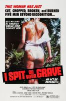I SPIT ON YOUR GRAVE One Sheet Poster
