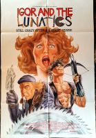 IGOR AND THE LUNATICS One Sheet Poster