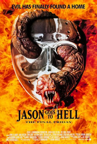 JASON GOES TO HELL One Sheet Poster