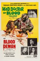 MAD DOCTOR OF BLOOD ISLAND One Sheet Poster