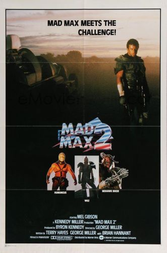 MAD MAX 2 One Sheet Poster
