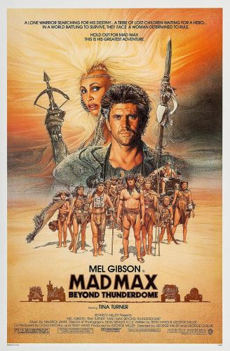 MAD MAX 3 THUNDERDOME One Sheet Poster