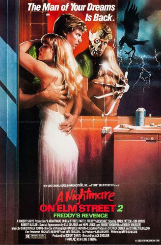A NIGHTMARE ON ELM STREET 2 One Sheet Poster