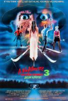 A NIGHTMARE ON ELM STREET 3 One Sheet Poster