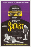 THE SADIST One Sheet Poster
