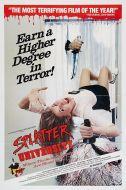 SPLATTER UNIVERSITY One Sheet Poster