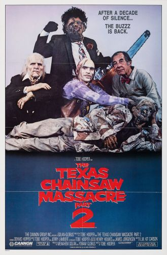 TEXAS CHAINSAW MASSACRE PART 2 - style A Poster