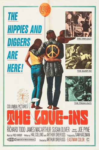 THE LOVE-INS One Sheet Poster