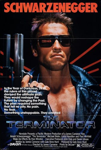 THE TERMINATOR One Sheet Poster