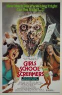 GIRLS SCHOOL SCREAMERS One Sheet Poster
