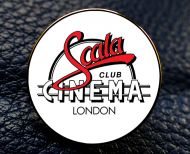 Scala Cinema Enamel Badge