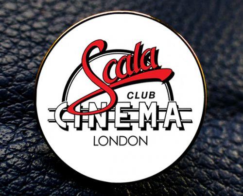 Scala Cinema Enamel Badge